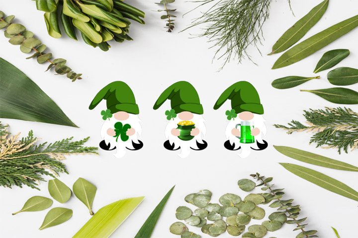 St Patricks Day Gnomes, Gnomes PNG, Gnome Sublimation