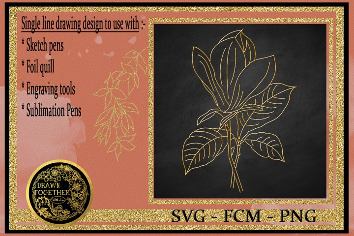 Magnolia 2 - Single line for foil quill