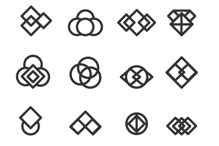 12 Minimalistic Logo Part1