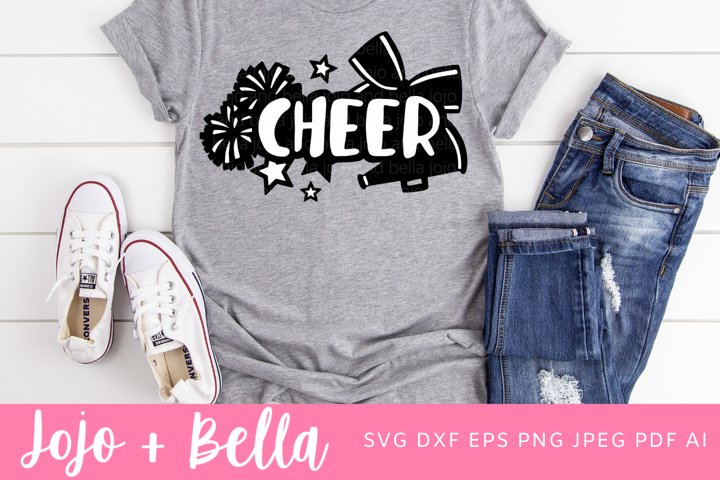 Cheerleading Svg - Cheer Svg