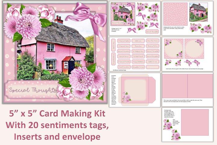Card Making Kit, Inserts, envelope, clipart, decoupage