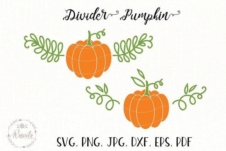 Divider Pumpkin Clipart