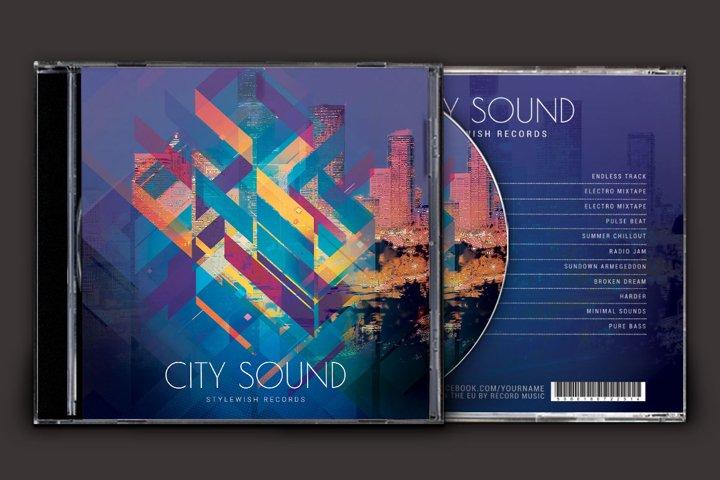 City Sound CD Cover Artwork