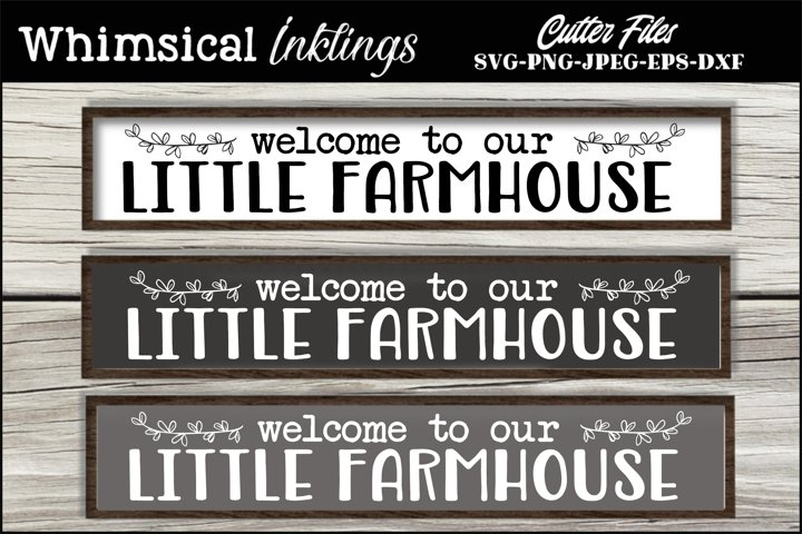 Little Farmhouse SVG
