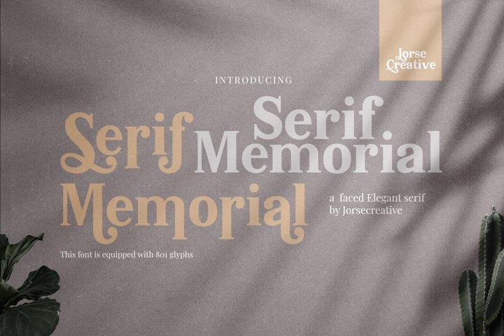 Serif Memorial