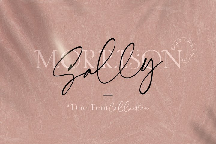 Sally Morrison Script & Serif