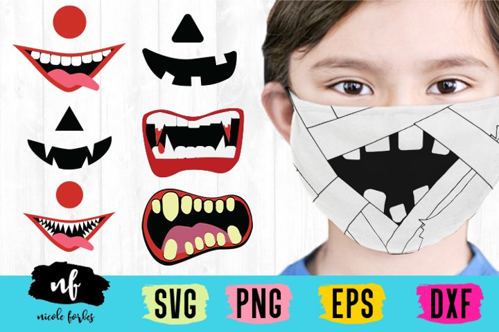 Halloween Costume Mask SVG Bundle