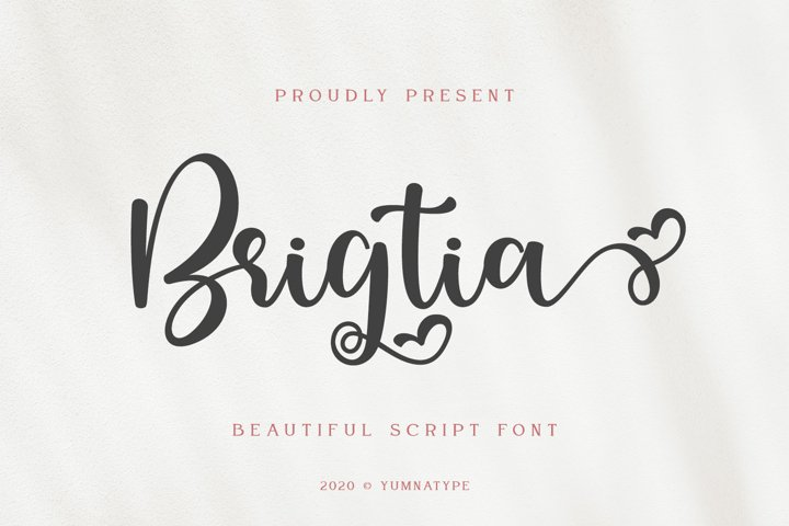 Brigtia Lovely Swash Font