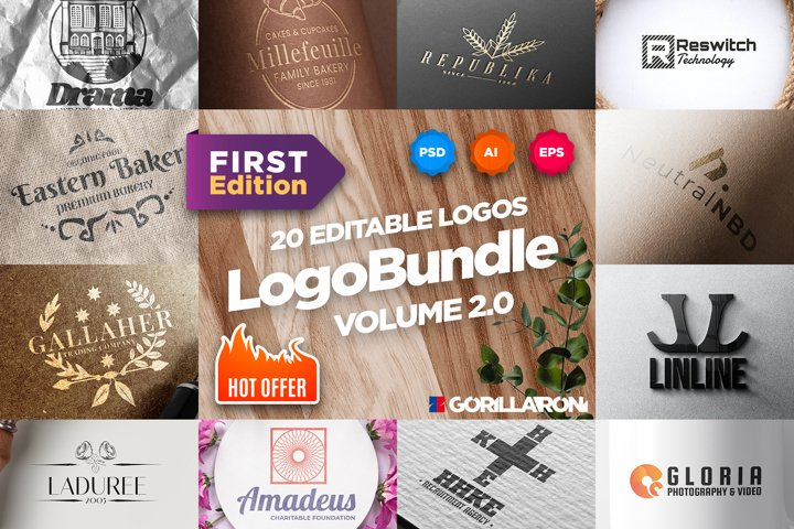 Logo Bundle. Volume 2.0. First Edition