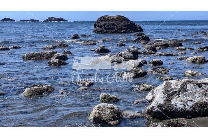 Stock Photography, Coastal Beach Coastline, Oregon Coast