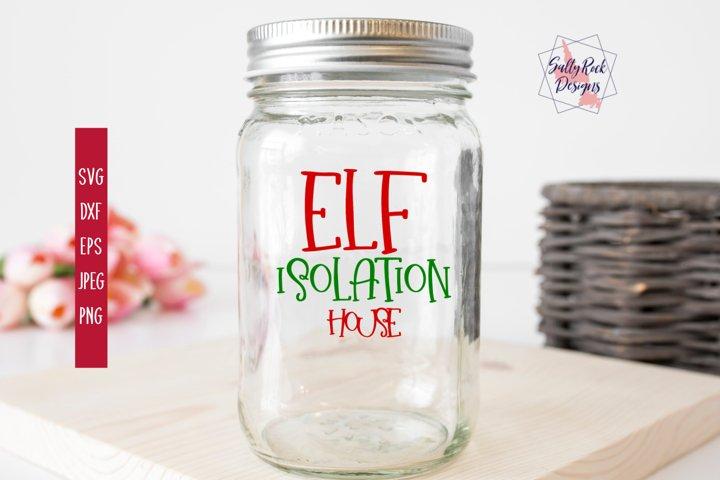 Elf Isolation House SVG, Elf House SVG, Elf Isolation
