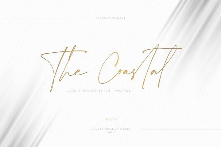 The Coastal Luxury Handwritten Fonts