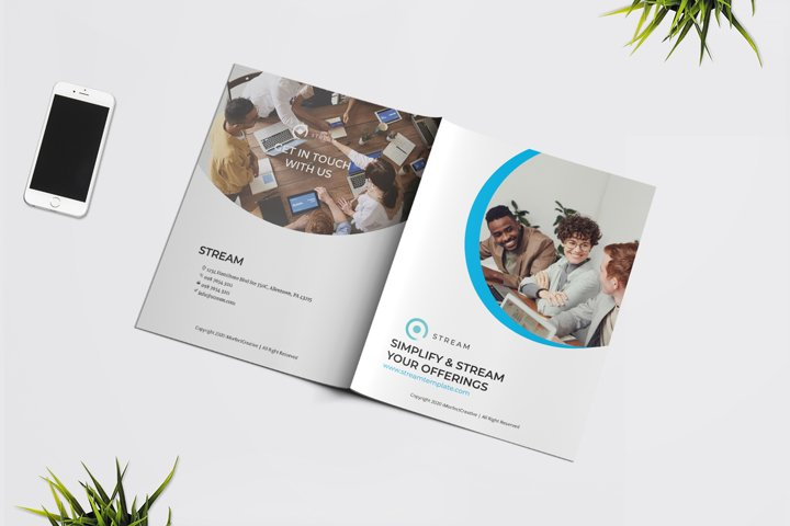 Stream Brochure Template