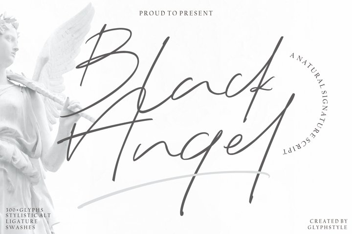Black Angel - a Natural Signature Script