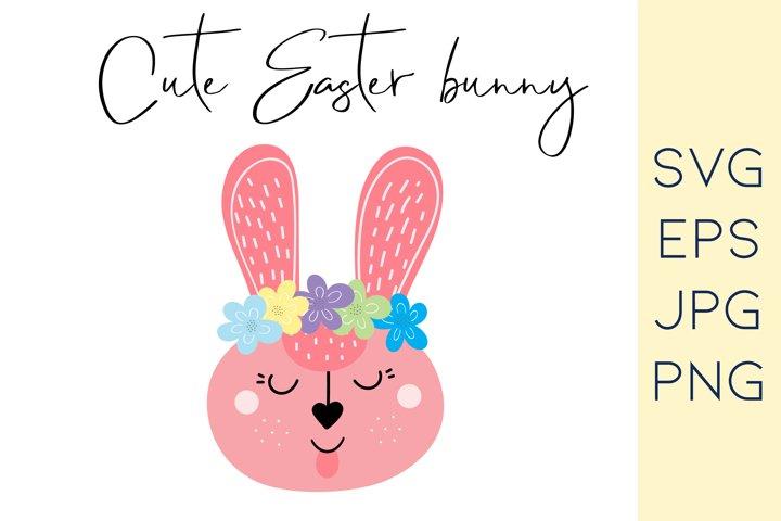 Easter bunny SVG |Easter Rabbit SVG|Files for Cricut