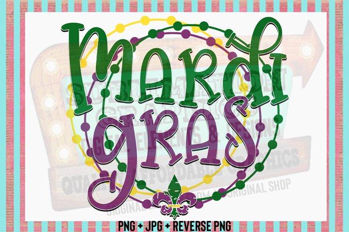 Mardi Gras Sublimation Digital Download