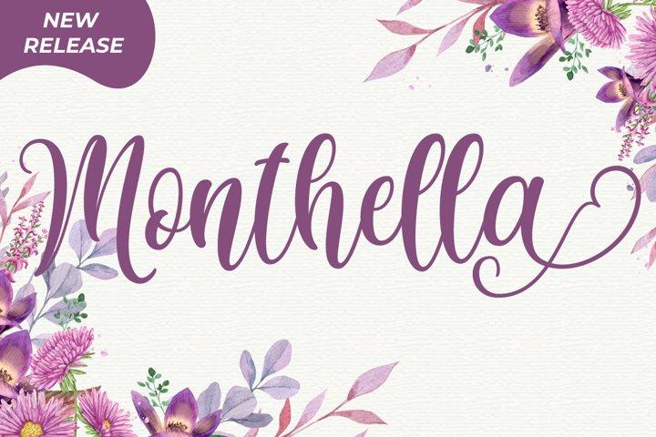 Monthella Script