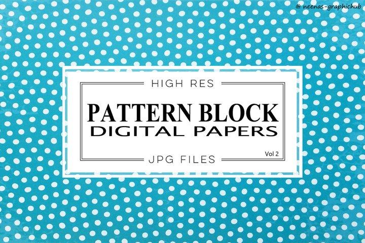Pattern Design Digital Papers - Vol 2