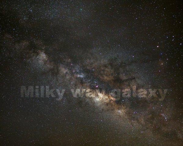 Milky way Comet and Comet 252P/LINEAR