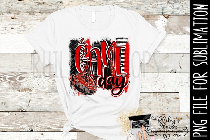 Game Day Football PNG for Sublimation BUNDLE