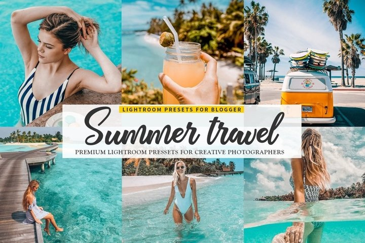 Summer Blogger Lightroom Presets