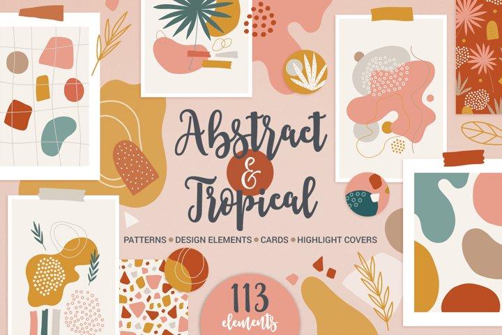 Abstract & Tropical Kit