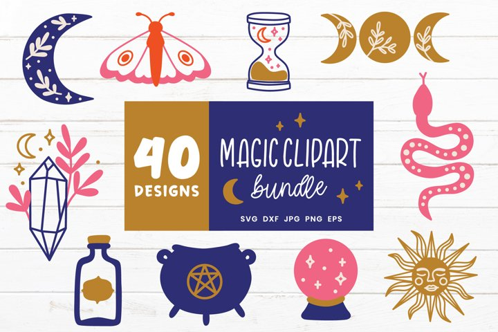 Magic Svg Bundle | Witch Svg | Witchcraft Svg Cut Files
