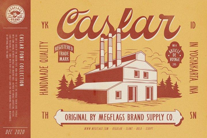 Caslar Typeface