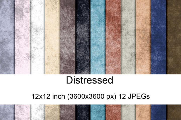 Distressed digital papers