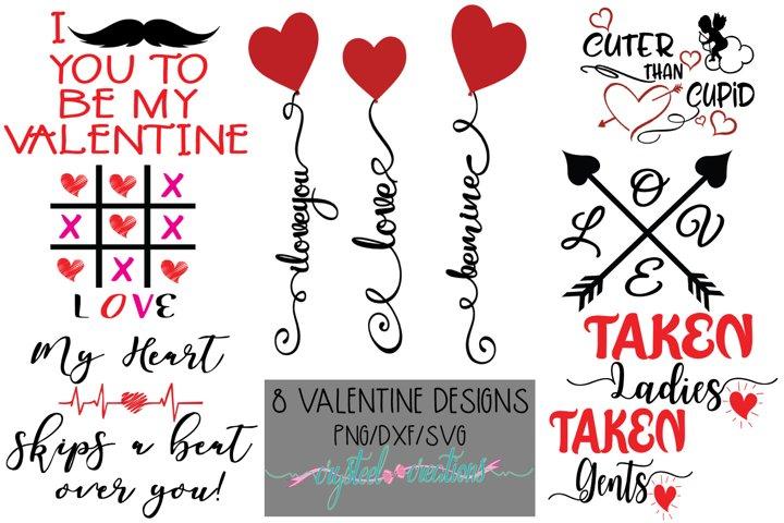 Love Bundle 8 Designs