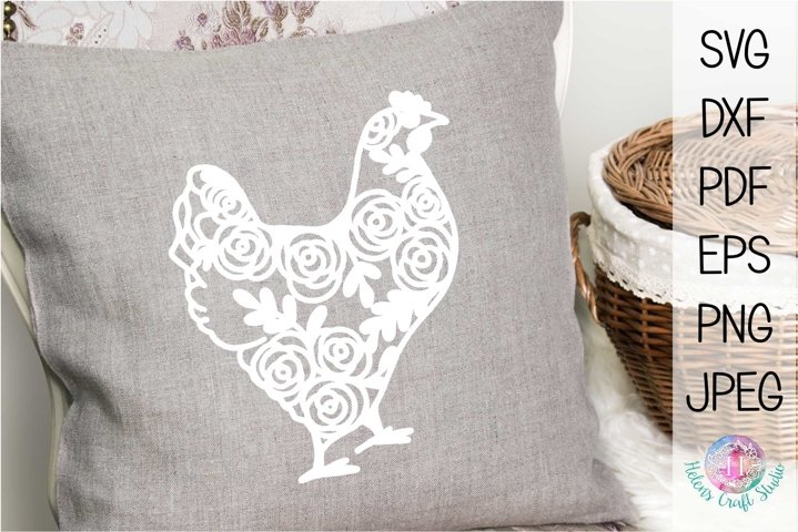 Vintage country hen