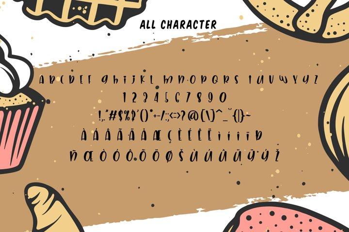 Imagine Dreams - A Bumpy Cute Sans Font - Free Font of The Week Design2