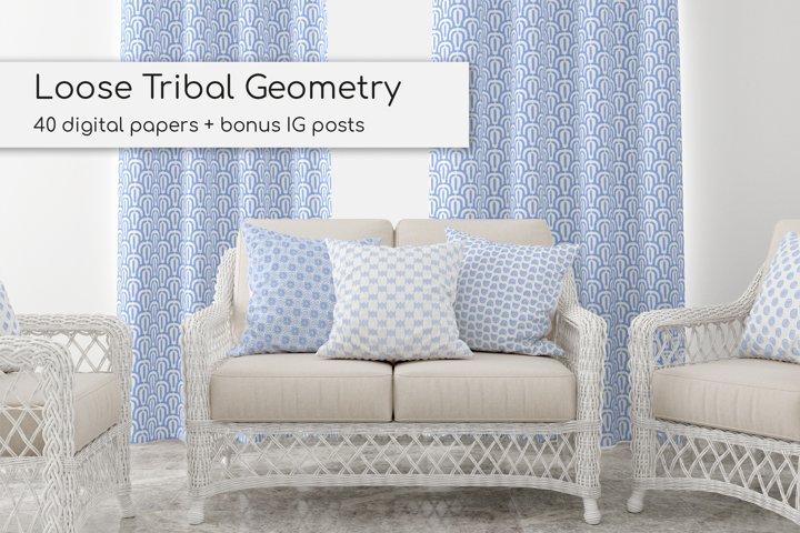 Loose Tribal Geometry Patterns