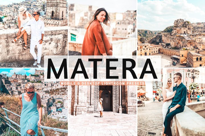Matera Mobile & Desktop Lightroom Presets