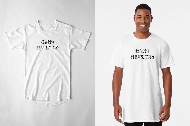 HAPPY HAUNTING SVG Sublimation designs