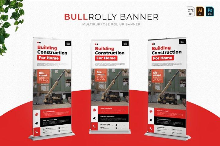 Bullrolly   Roll Up Banner