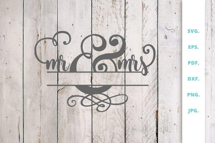 Mr&Mrs Monogram
