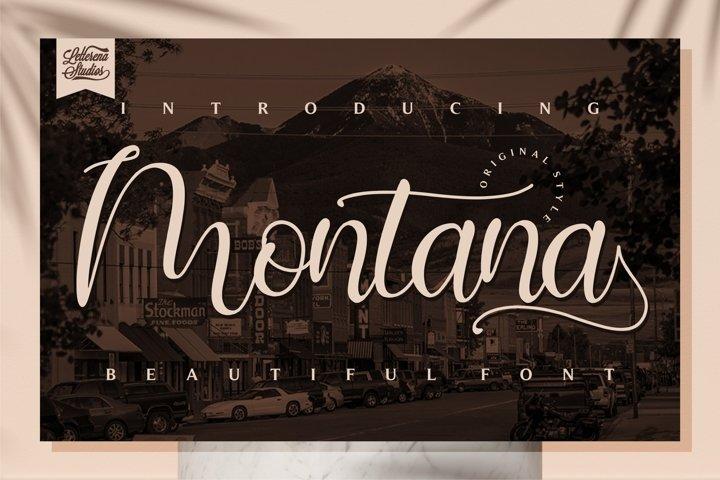 Montana - BeautifulFont