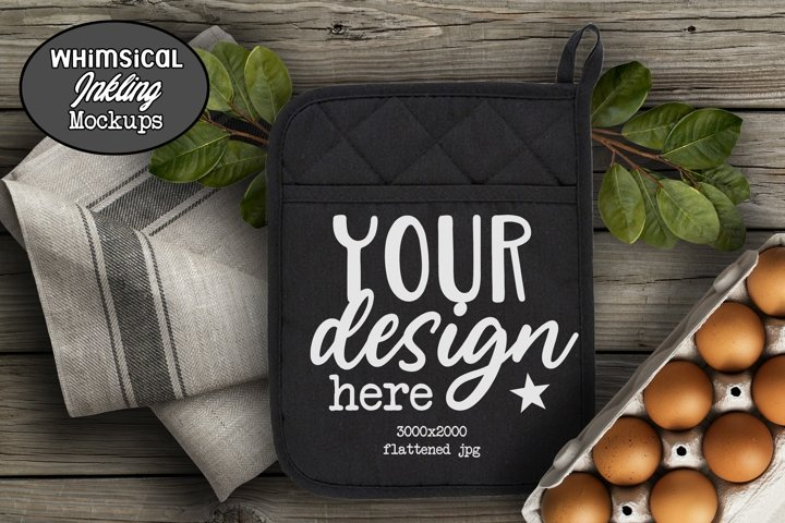 Black Country Potholder Mockup
