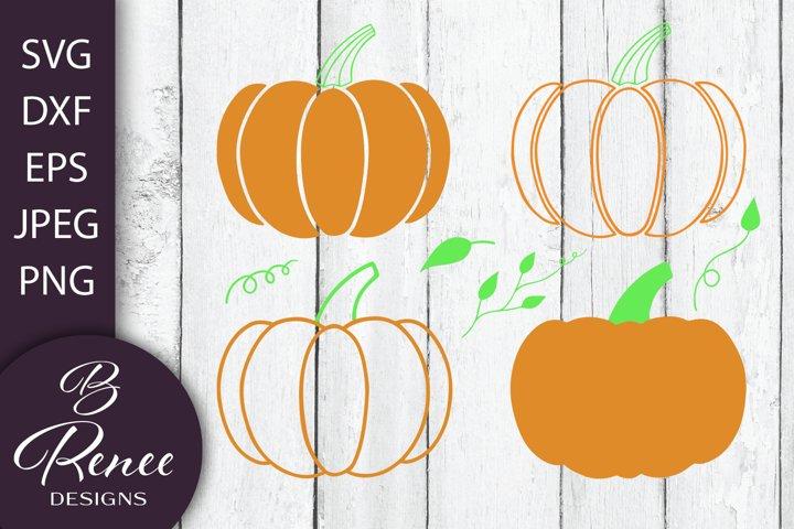 Fall Pumpkin Patch SVGs   Customizable Pumpkin Design