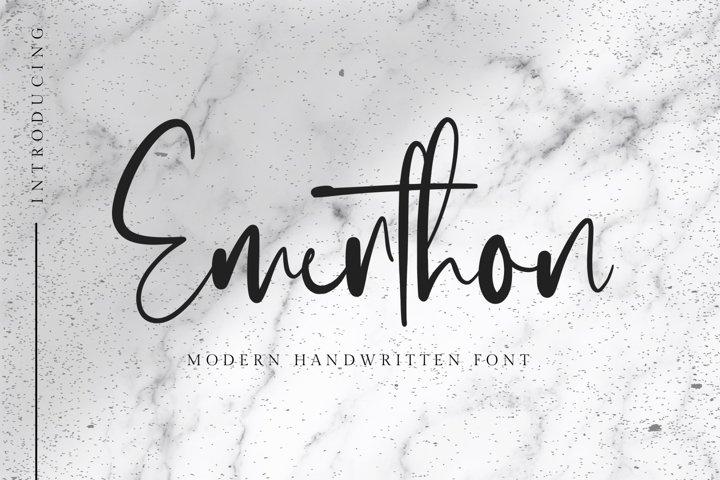 Emerthon - Modern Handwritten