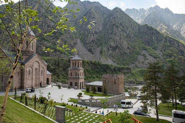 Georgia mountains and beautiful nature