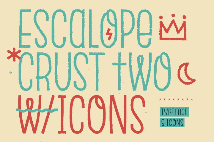 Escalope Crust Two + Icons