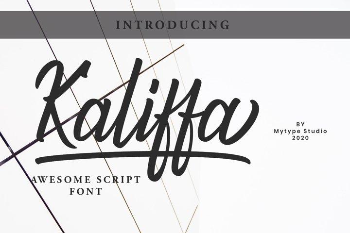 Kaliffa - Script
