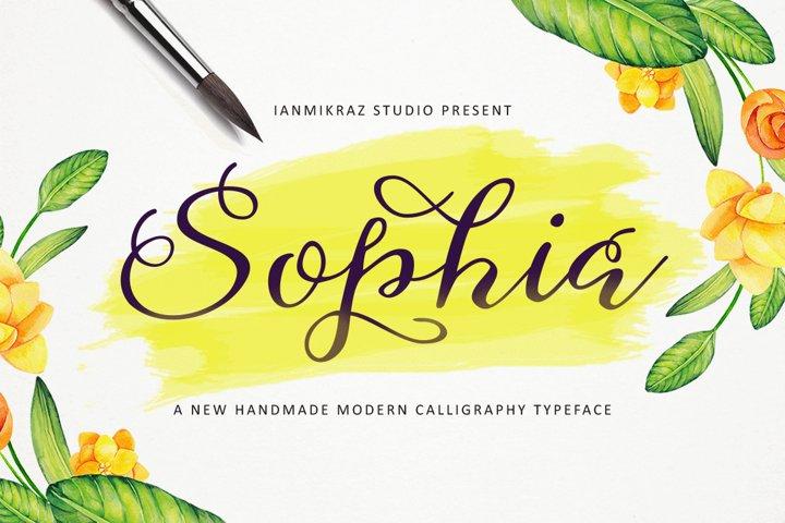 Shopia Script
