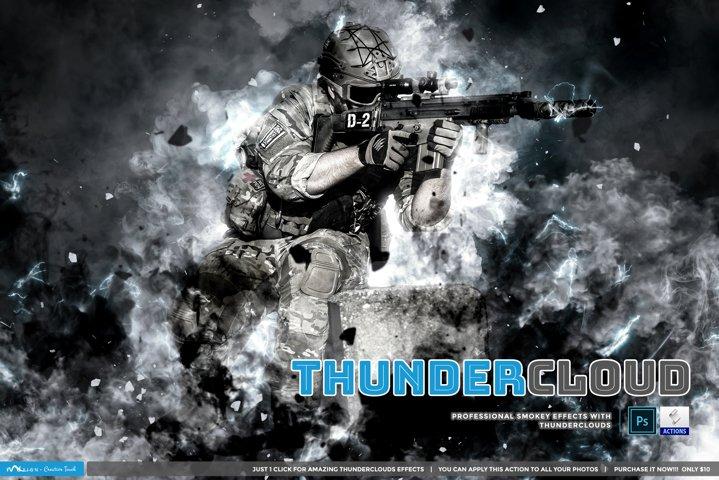 Thundercloud - Photoshop Action