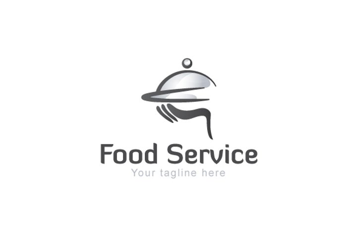 Food Service - Catering Service Logo Design Template