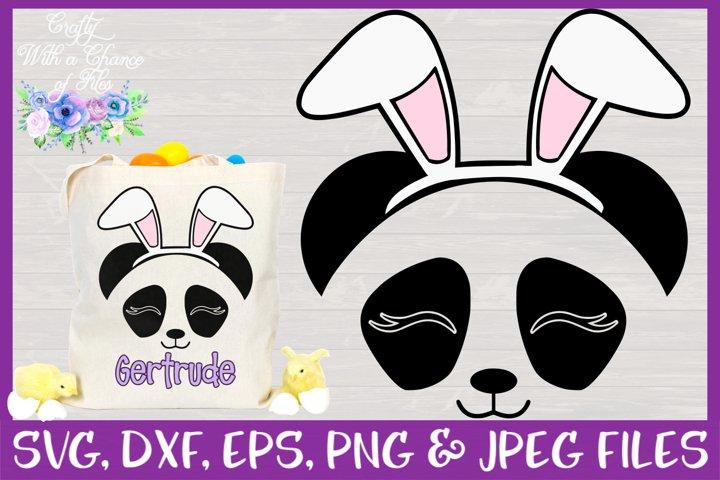 Easter | Panda Face SVG Cut File