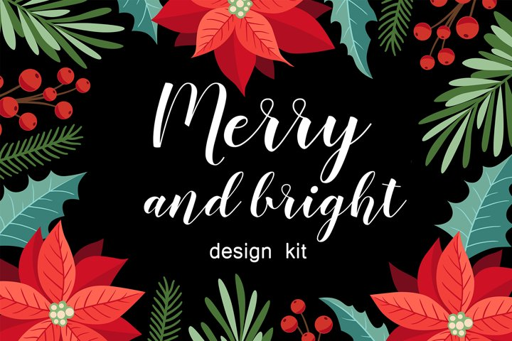 Merry and Bright Christmas Kit