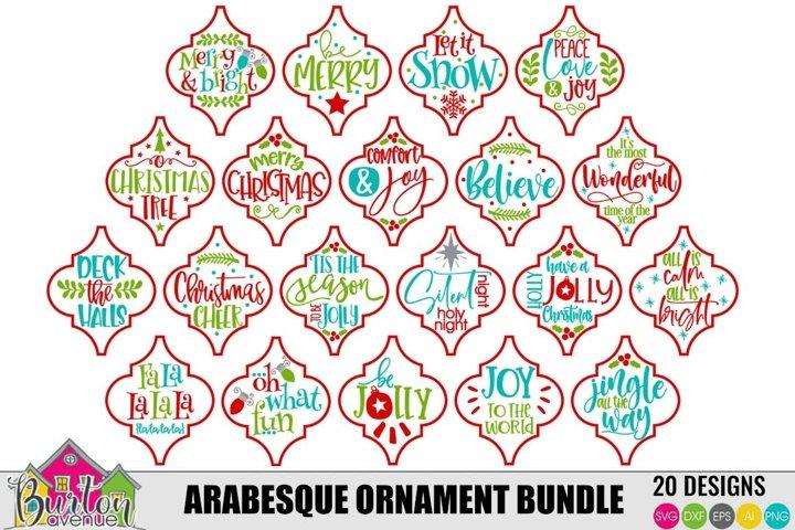 Arabesque Ornament Bundle |SVG Files for Silhouette & Cricut